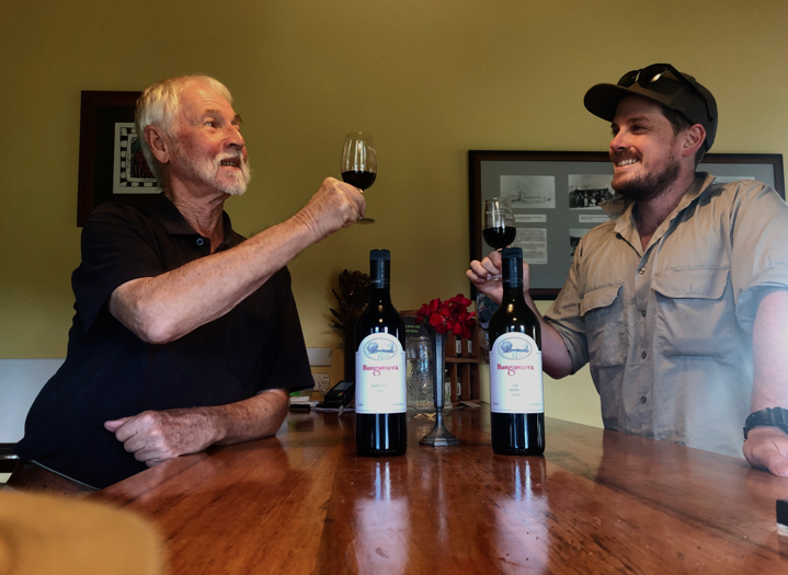 Winemakers: Jeff Harden and Tom Battle