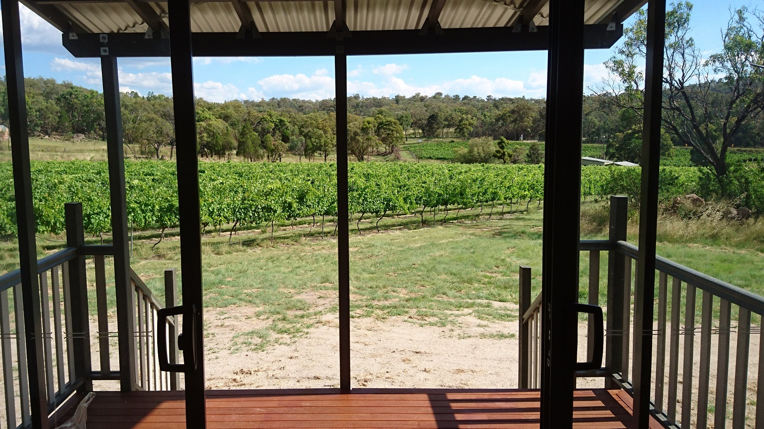 Just Red Wines Vineyard Stay Cabins