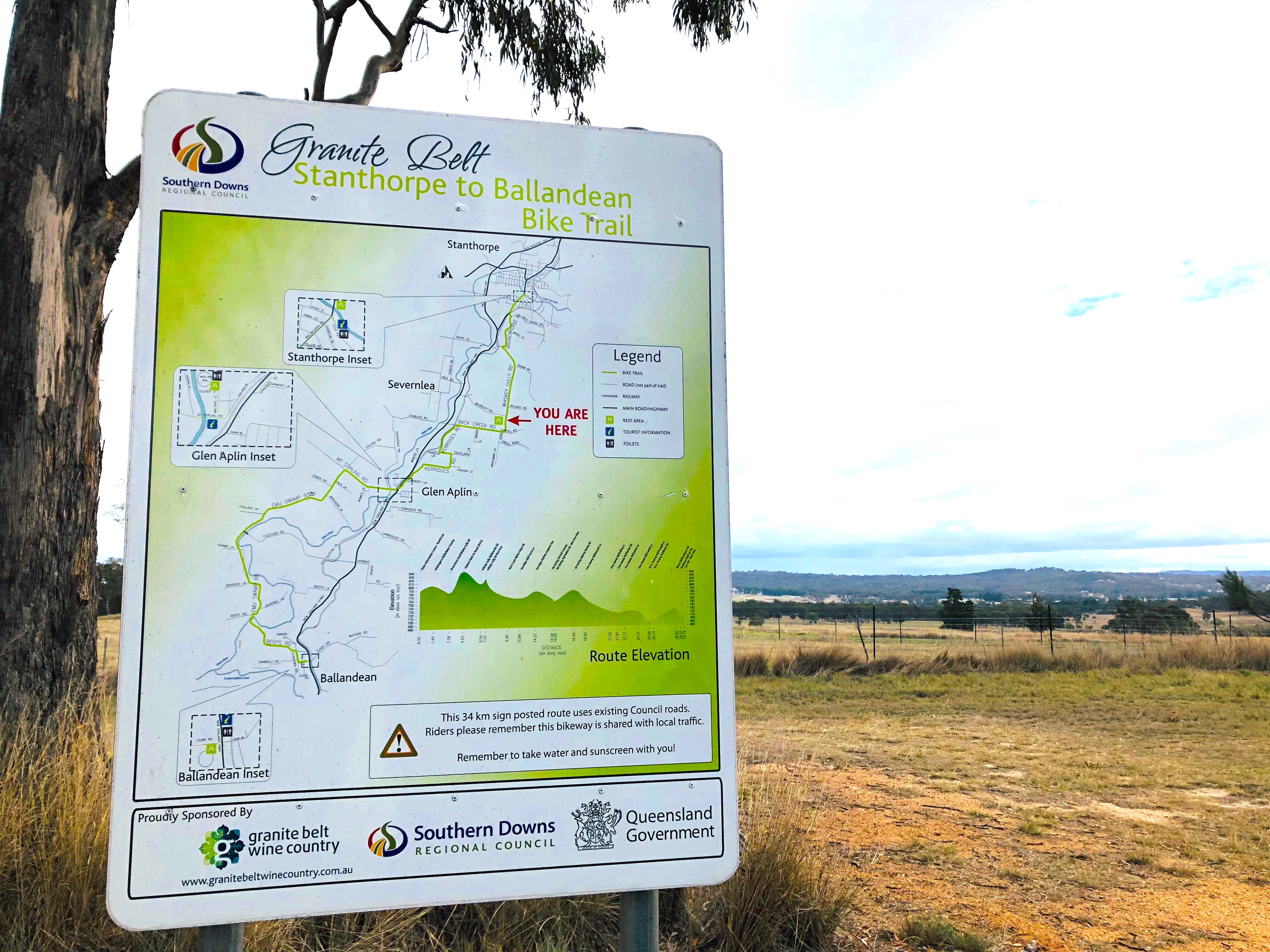Granite Belt Cycle Trails