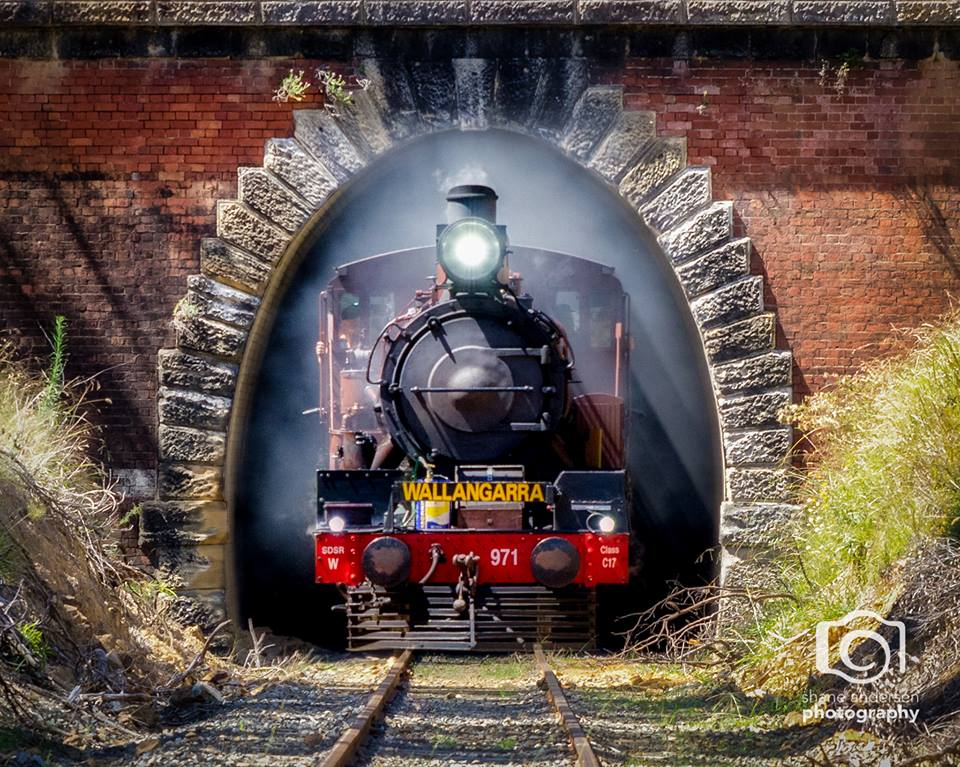 Image Credit: Shane Andersen Photography, Steam Railway